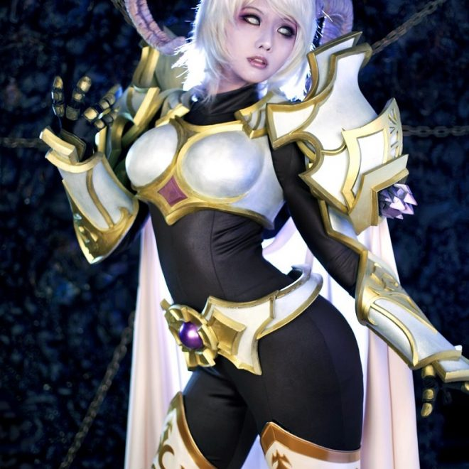 World of Warcraft Fans, Meet Yrel, the Draenei Paladin in Real Life