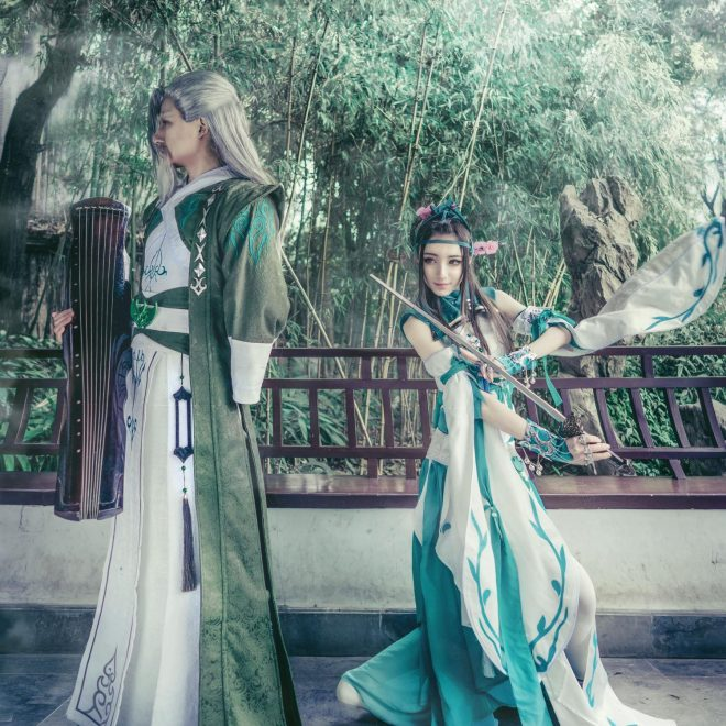Changege & Libai Cosplay
