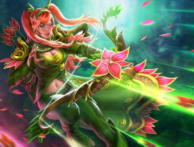 See the Beautiful Dota 2 Cosplay of Windranger