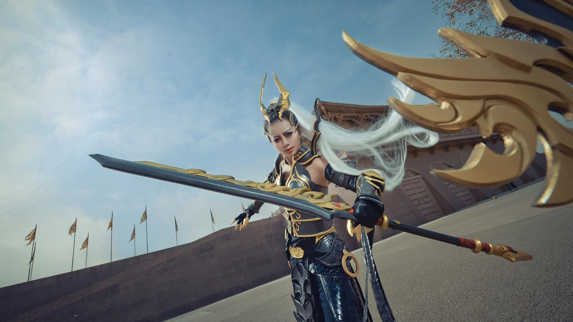 Swordsman Online - Cangyun - The female warrior