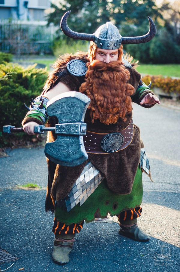 Chief of Berk from the movie How to Train Your Dragon Cosplay