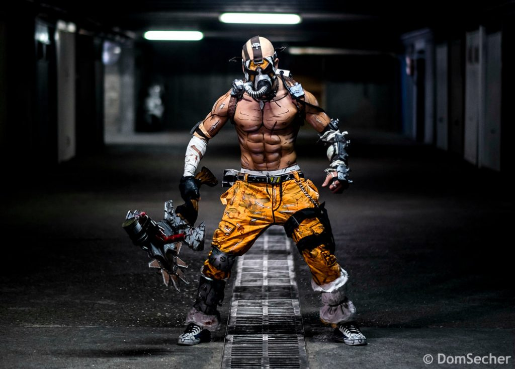 Borderlands 2 - Krieg Cosplay
