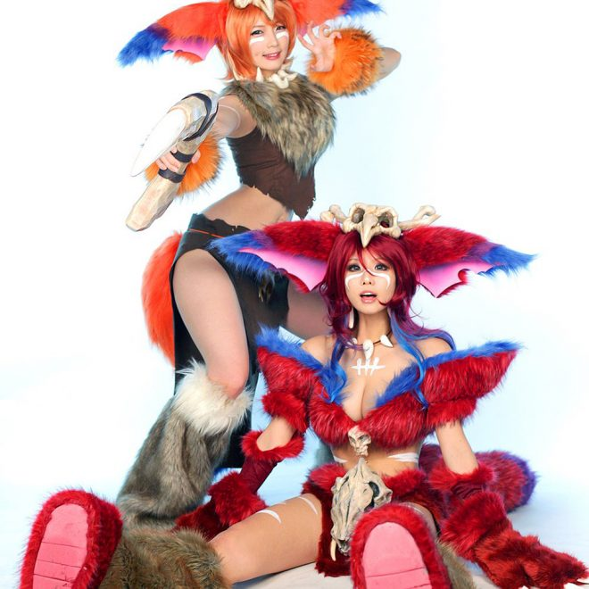 League of Legends Tasha and Doremi cosplay 2