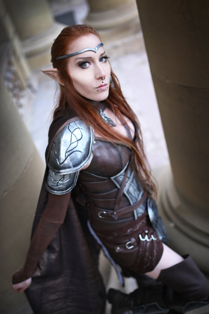 sweet elven cosplay